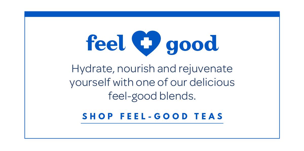Shop feel-good teas